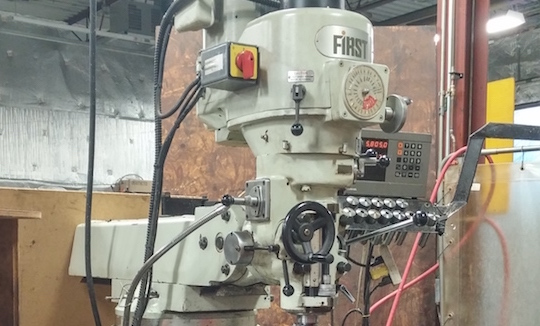 First Milling Machine